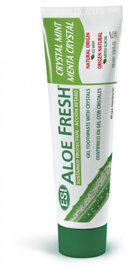 Pasta Dental Menta Cristal Ación Retard Aloe Fresh 100 ml
