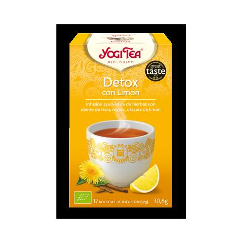Yogi Tea Detox con Limon