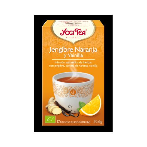 Yogi Tea Jengibre Naranja y Vainilla
