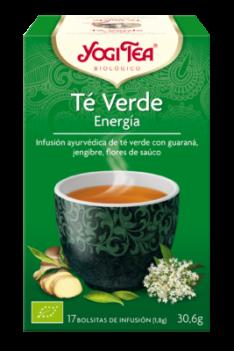 Yogi Tea Verde Energía