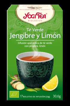 Yogi Tea Verde Jengibre y Limón