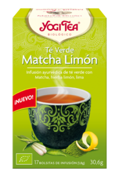 Yogi Tea Verde Matcha Limón