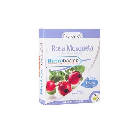 ROSA MOSQUETA - NUTRABASIC DE DRASANVI 30 PERLAS