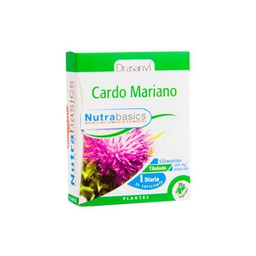Cardo Mariano - Nutrabasics de Drasanvi, 30 caps