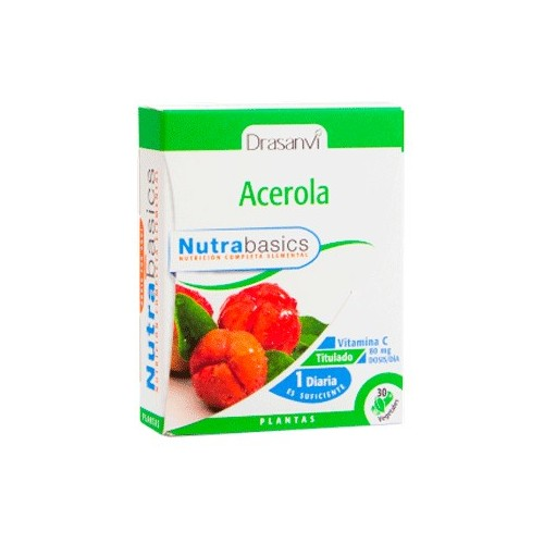 Acerola - Nutrabasics de Drasanvi, 30 caps