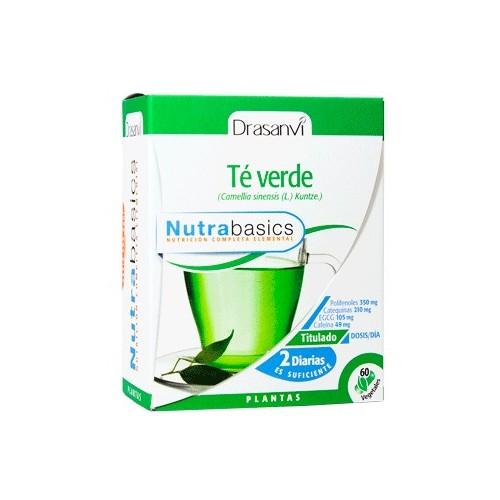 Té verde  - Nutrabasics de Drasanvi, 30 caps