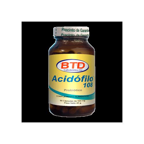 Acidófilo 108 Probiótico 60 caps.
