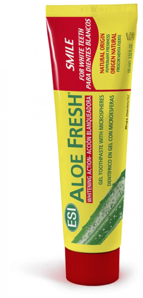 Pasta Dental Smile para Dientes Blancos Aloe Fresh 100 ml