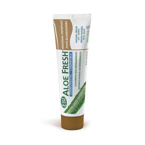 Pasta Dental Blanqueadora Compatible Homeopatía Aloe Fresh 100 ml