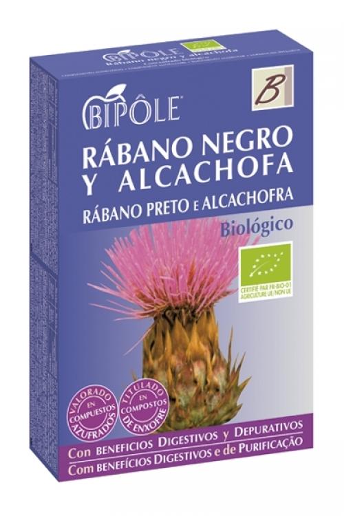 Rábano negro y alcachofa BIO Bipole 20 viales INTERSA