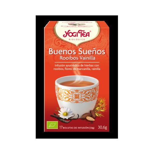 Yogi Tea Buenos Sueños Rooibos Vainilla
