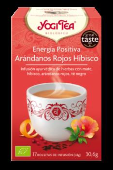 Yogi Tea Energía Positiva Arándanos Rojos Hibisco