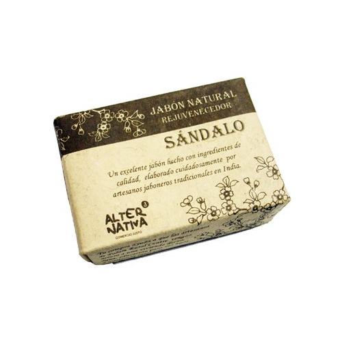 JABON NATURAL DE SANDALO 100 GR ALTERNATIVA3