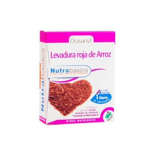 Levadura roja de arroz - Nutrabasics de Drasanvi, 30 caps