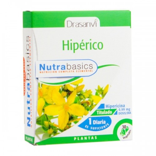 Hipérico - Nutrabasics de Drasanvi, 30 caps